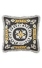 Suzani embroidery pillow via belle vivir blog