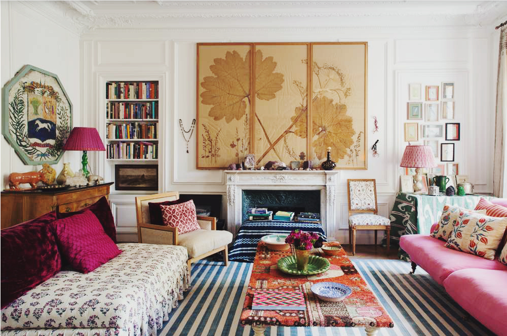 Global chic: Eclectic Style Sophisticated |