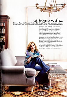 Jemma Jane Pilkingon siting in her living room at her home