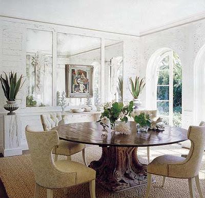 tom sheerer beach decor style dining room