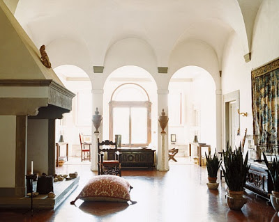 Laudomia Pucci's home via  belle vivir blog