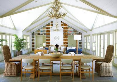 Amagansett Modern Interior Design via Belle Vivir Blog