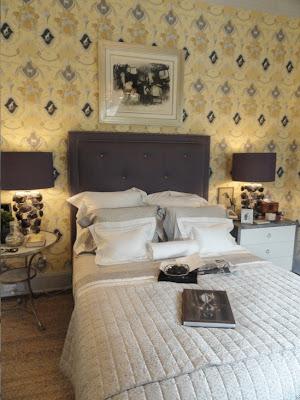 Keith Karroll design hampton designer show house bedroom