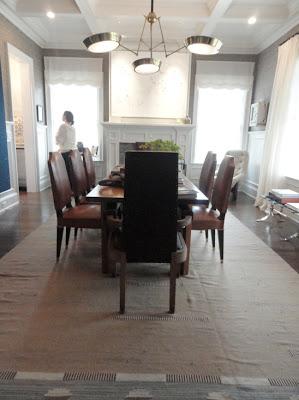 robert stilin design in hampton designer show house dining room