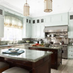 Kitchen of the week: Think Ice Green for Kitchen Cabinetry