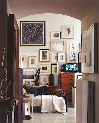 Rooms that work gallery walls for Belle bedroom ideas