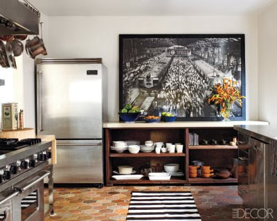 oversized photography use in home decor