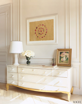 L'Wren Scott's Paris Apartment vignette via bele vivir blog