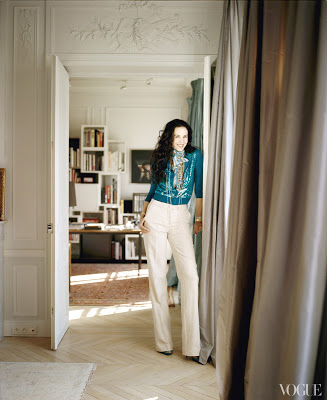 L'Wren Scott's Paris Apartment L'Wren Scott's Paris Home via belle vivir blog