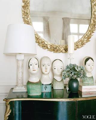 L'Wren Scott's Paris Apartment via belle vivir blog