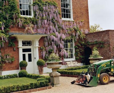 Stella McCartney's Georgian home with wisteria vine