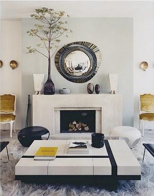 herve van der straeten's home fireplace