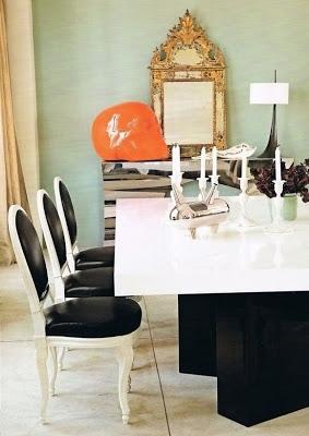 herve van der straeten's home dining room