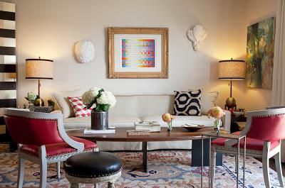 our home after- julie paulino design living room