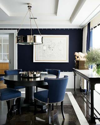 Pablo Paniagua design dining room via belle vivir blog