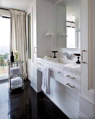 Pablo Paniagua design bathroom via belle vivir blog