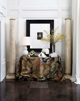 Pablo Paniagua design entryway via belle vivir blog