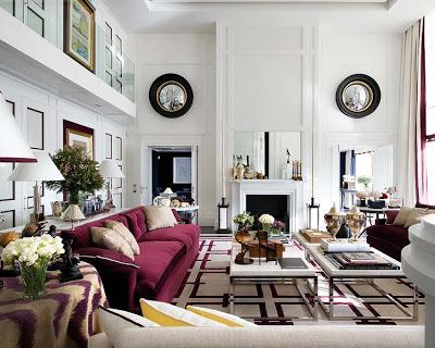 Pablo Paniagua design living room via belle vivir blog