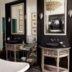 Black Bathrooms