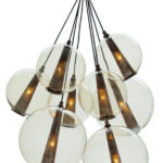 For the home:  Cluster Chandelier
