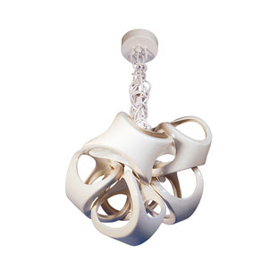cluster chandelier roundup via belle vivir blog