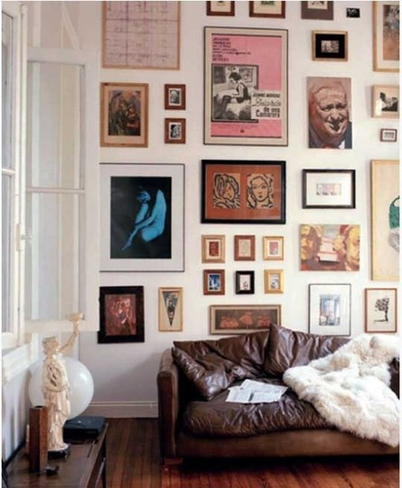 how to create the best gallery walls, how to create a gallery wall via belle vivir blog