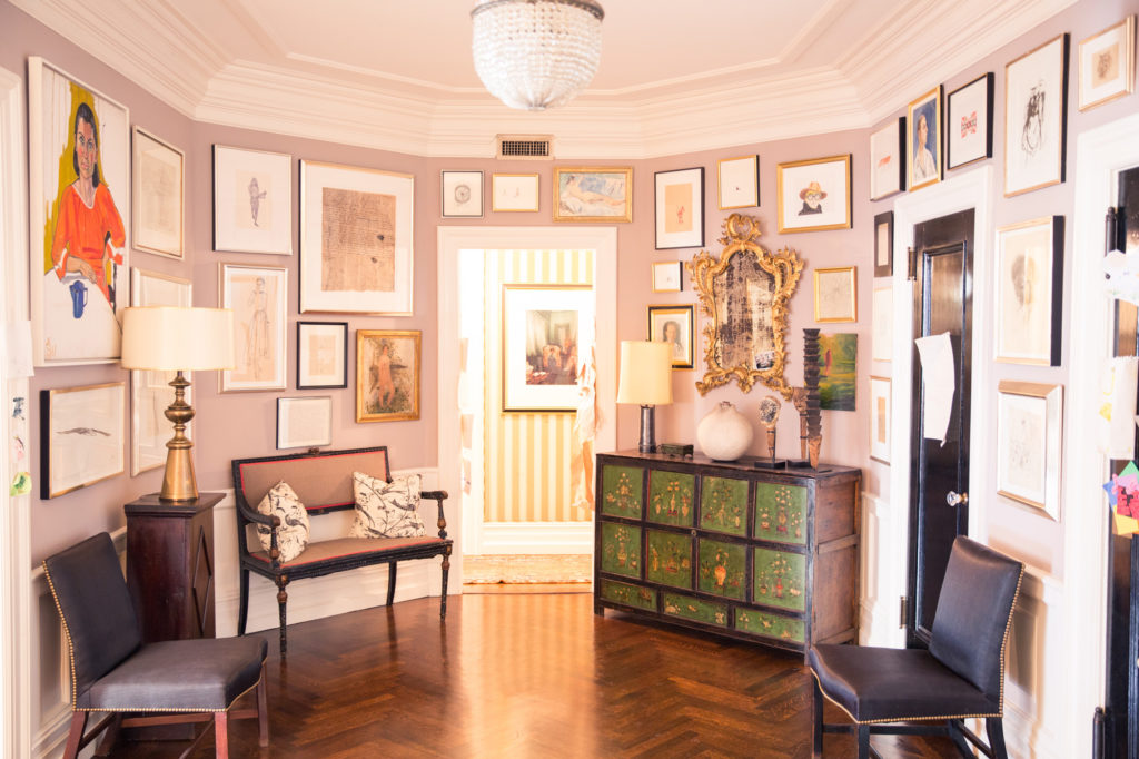 Gallery Walls Kate and Andy Spade