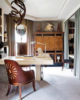 Ramon Garcia Jurado, home office via belle vivir blog
