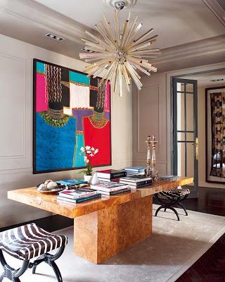 Ignacio Garcia de Vinuesa design entry way via belle vivir