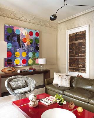 Ignacio Garcia de Vinuesa design living room via belle vivir