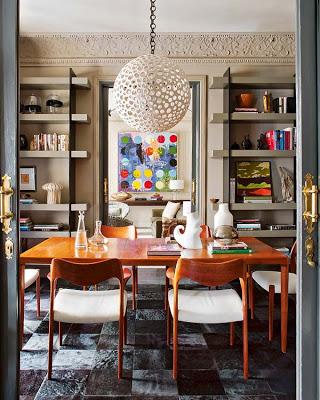 Ignacio Garcia de Vinuesa design dining room via belle vivir