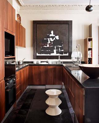 Ignacio Garcia de Vinuesa kitchen design via belle vivir
