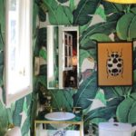 Every home should have:  A wallpapered powder room.