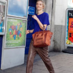 Friday eye candy: Slouchy leather pants