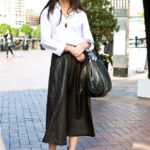 Leather Skirt:  Leather Skirt Roundup
