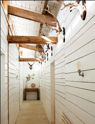 every home should have a beautiful hallway a rustic decor hallway in a home with shiplap on the walls