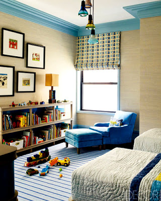 Steven Gambrel Children Room via belle vivir blog
