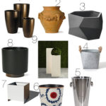 For the home: Planters