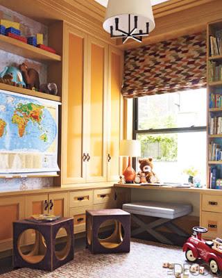 Steven Gambrel Children Room via belle vivir blog