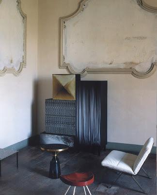 Modern vintage furniture via belle vivir blog