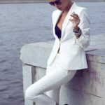 Style inspiration:  Women pant suits