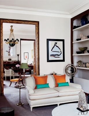 Tino Zervudachi's Paris Home via belle vivir blog