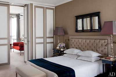 Tino Zervudachi's Paris Home via belle vivir blog tino zervudachi's paris home bedroom