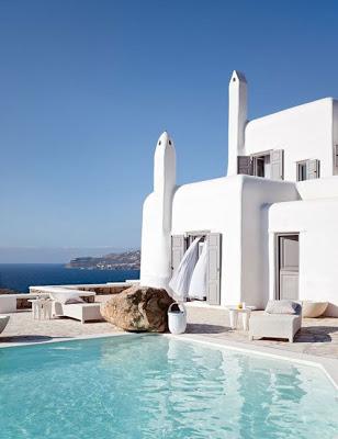 White Interiors, via belle vivir blog, neutral color interior design