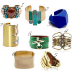 Let your arm shine:  bangles and cuffs