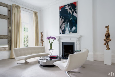 francis sultana design in london fireplace