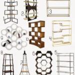 For the home:  Bookshelves as room divider