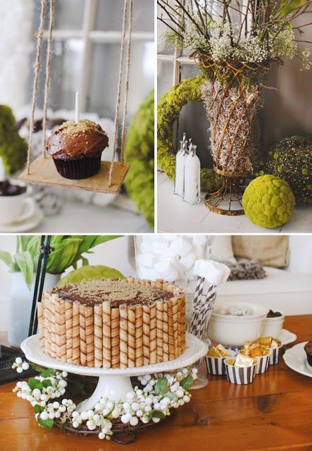 Chic birthday party ideas for kids First home decor pinterest