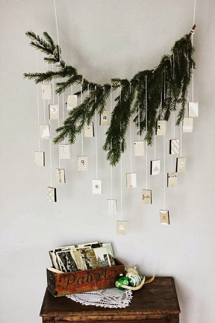 Christmas decor via belle vivir blog