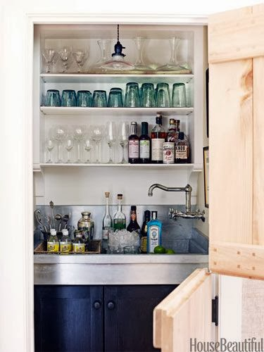home bars via belle vivir